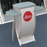 Custom Hybrid Trade Show Counter Pedesta (VK-1658)