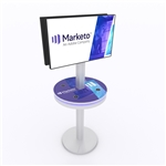 Tablet and Cell Phone Charging Station Kiosk w/ Monitor Mount