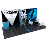 Visionary Hybrid Trade Show Exhibit 10' x 20'