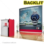 ECO-1061 Backlit 10 Hybrid Trade Show Exhibit 10' x 10'