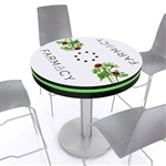 "Mobile Device Charging Station 42"" Pub Table"