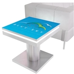 Mobile Device Charging Station Small Square Table