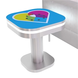 Mobile Device Charging Station Small Table
