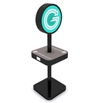 Trade Show Mobile Device Charging Station Kiosk