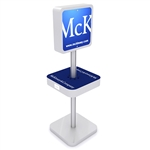 Mobile Device Charging Station Kiosk