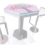 MOD-1450 InCharg Bistro Table