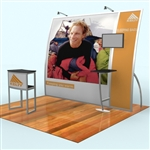 Magellan Miracle Hybrid Trade Show Exhibit 10' x 10'