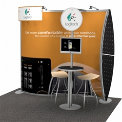 Magellan MOR Hybrid Trade Show Exhibit 10' x 10'