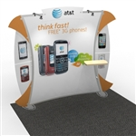 Magellan Hybrid Trade Show Exhibit 10' x 10'