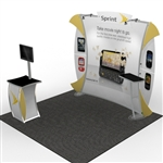 VK-1082 Magellan Hybrid Trade Show Display