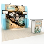 Magellan Magic Hybrid Trade Show Exhibit 10' x 10'