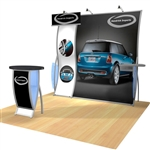 Perfect 10 Fleur Hybrid Trade Show Exhibit 10' x 10'