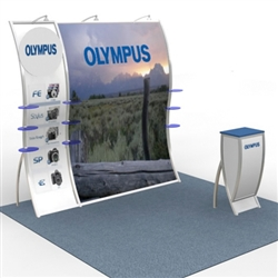 Perfect 10 Olga Hybrid Trade Show Exhibit 10' x 10'