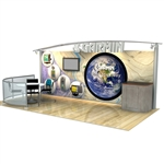 Magellan Modular Trade Show Exhibit 10' x 20'