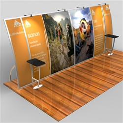 Magellan Miracle Hybrid Trade Show Exhibit 10' x 20'