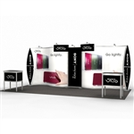 Magellan MOR Hybrid Trade Show Exhibit 10' x 20'