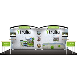 Sacagawea Hybrid Trade Show Exhibit 10' x 20'