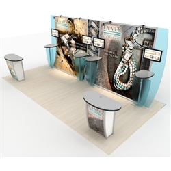 Magellan Magic Hybrid Trade Show Exhibit 10' x 20'