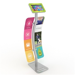 Surface Tablet Stand Enclosure w/ Graphics