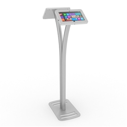 Double Surface Tablet Kiosk Stand for Trade Shows