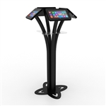 Quad Surface Tablet Kiosk Stand for Trade Shows