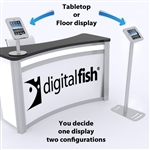 Convertible iPad Kiosk Stand for Trade Shows