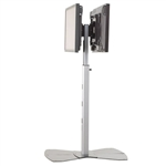 Trade Show Dual Monitor Stand