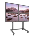 Trade Show 2x2 Video Wall Cart