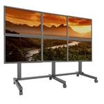 Trade Show 3x2 Video Wall Cart