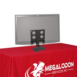 Trade Show Swiveling Table Top Monitor Stand