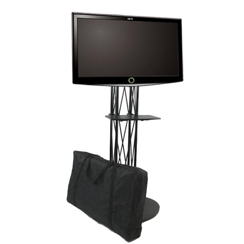Folding Tv Stand Ez Fold All In One Tradeshow Stuff