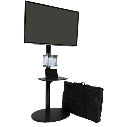 Portable Tv Stand For Trade Show Tall Monitor Stand