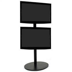 Portable Dual Flat Panel Monitor Stand