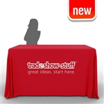 Demonstration Table Trade Show Throw: with Classic Imprint