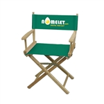 Full-Color Imprinted Table Height Director Chair