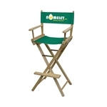 Full-Color Imprinted Bar Height Director Chair