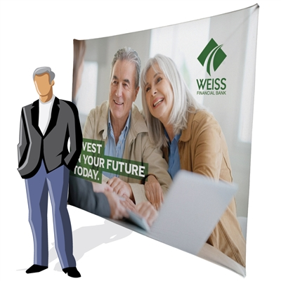 10ft Traverse Tension Fabric Display