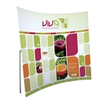 8ft ContourFit Curve Tension Fabric Display