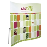 8ft ContourFit Wave Tension Fabric Display