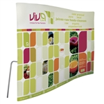 10ft ContourFit Wave Tension Fabric Display