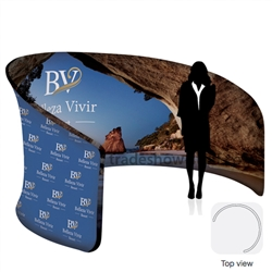 EuroFit Cove Jr. Tension Fabric Display