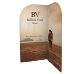 EuroFit Backwall Corner Fabric Display