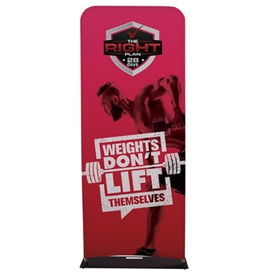 3 ft EuroFit Fabric Banner Stand