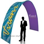 10 ft Arch EuroFit Tension Fabric Display