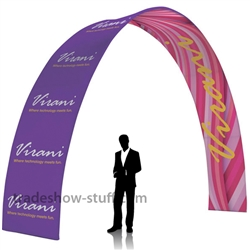 20 ft Arch EuroFit Tension Fabric Display