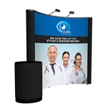 Premium 8ft Curved PopUp Display