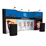 Premium 20ft Combo Pop-up Display