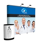 Premium 10ft Straight PopUp Display