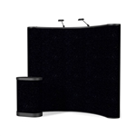 Campaign II 8ft Curved Trade Show Pop Up