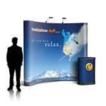 Campaign II 10ft Curved PopUp Display